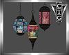 CTG 3 BOHO LAMPS