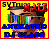 Animated DJ glass male
