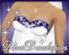 Diva Blue Wedding Top