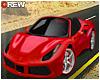 TC* Rarri F488 (Red)
