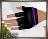 *J 80's Gloves Purple