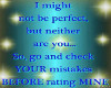 Not Prefect