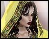 Yellow India veil