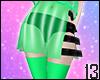 Green Rave Skirt