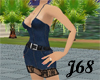 J68 Denim Mini Dress