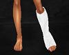 LEG PLASTER CAST - Left