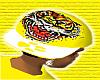 *CA* Yellow Tiger Hat