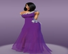 Timeless Purple Gown