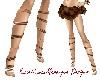 >Copper Leg Wraps<