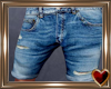 T♥ Ripped Shorts Med