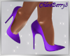 Tina Heels Purple