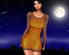Halloween fishnet dress