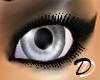 Unisex Silver Snow Eyes