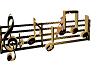 {xtn}music notes seats