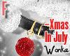 W° Xmas In July Bell .F