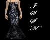 Black & White Gown