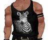 Zebra Tucked tank