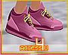 ! Purple Retro Sneakers