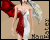 angel/ devil dress