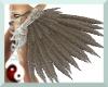{TFB} Silver glam feathe