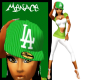 |M| La Green Fitted