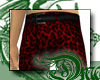 d Red Leopard Pants