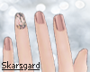 Rose Short Nails