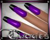 C Gel Nails Purple