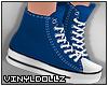 !V! Sneakers Blue