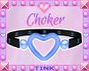 Choker   Blue