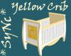Sync Pretty Yellow Crib