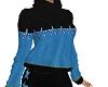 TF* Blue Star Sweater