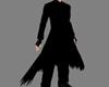 !M! Black Long Coat