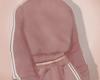 Sweater, rosé.
