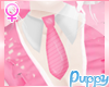 [Pup] Add On Pink Tie