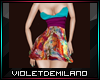 XXL SEXY COLORS DRESS