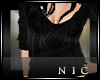 [Nic]Simple Blk Sweater