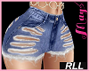'Bimbo Short Ripped RLL