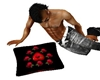 Red/Black kissin pillow