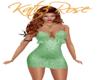 Cute Green prego dress