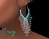Tonopah Turquoise Earr.