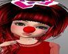 KID CLOWN RED NOSE