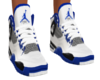 F| Blue Jordan Retro 4s