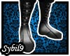 [MMO] Black High Boots 1