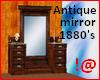 !@ Antique 1880's mirror