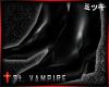 ! St. Vampire Black Shoe