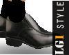 LG1 Black Dress Shoes