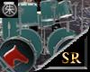 SR Mustang Drums