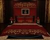 Red-Gold-Black Bed - V1