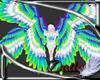 parrot Queen wings